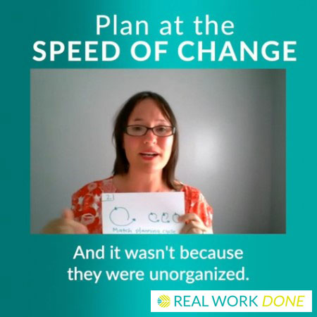 Planning at the Speed of Change